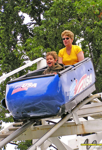 Bobsled photo from Seabreeze