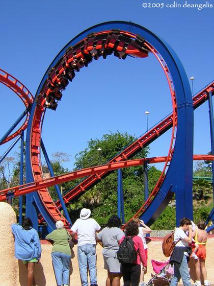 Scorpion Roller Coaster in Busch Gardens