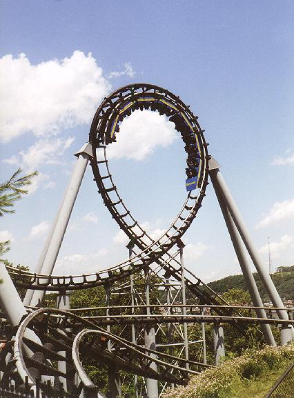 Steel Phantom photo from Kennywood