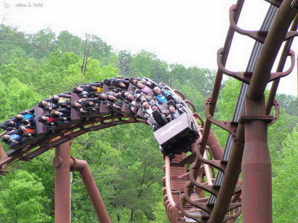 Tennessee Tornado photo from Dollywood