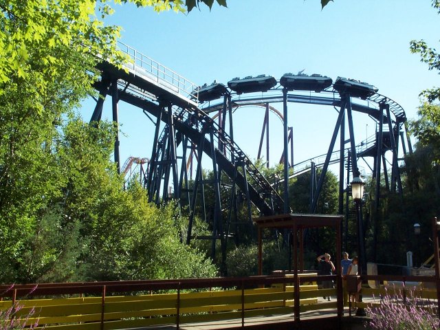 Whizzer photo from Six Flags Great America