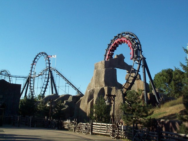 Demon photo from Six Flags Great America