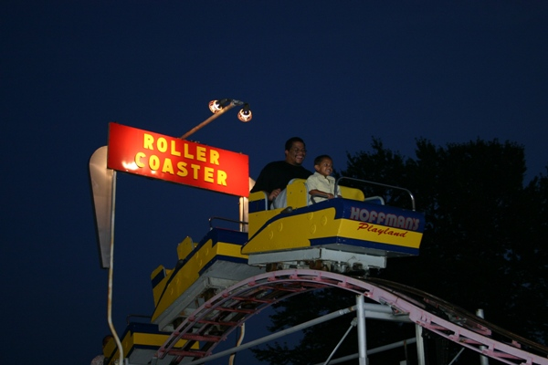 Roller Coaster photo from Hoffman's Playland