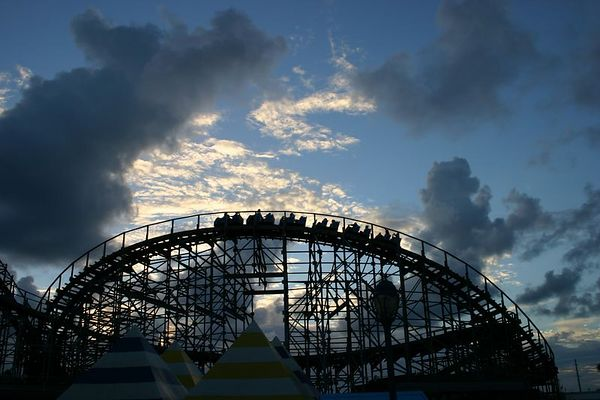 Hurricane photo from Myrtle Beach Pavilion and Amusement Park