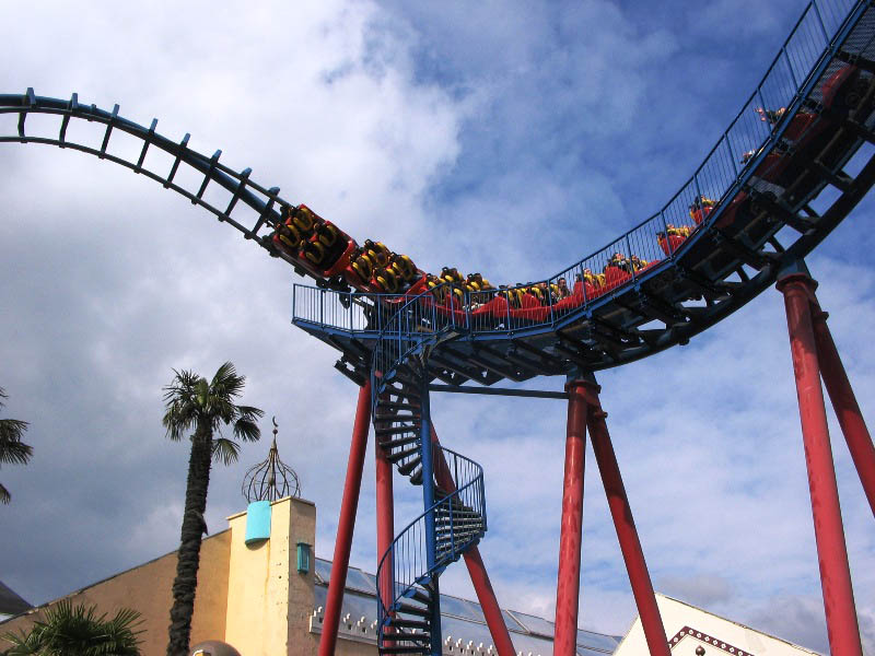 Cobra photo from Walibi Belgium