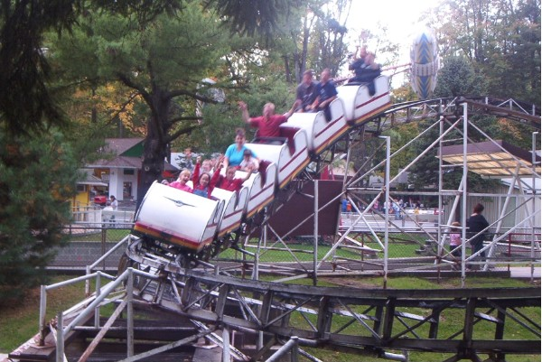 High Speed Thrill Coaster photo from Knoebels