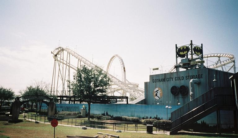 Batman: The Escape photo from Six Flags Astroworld