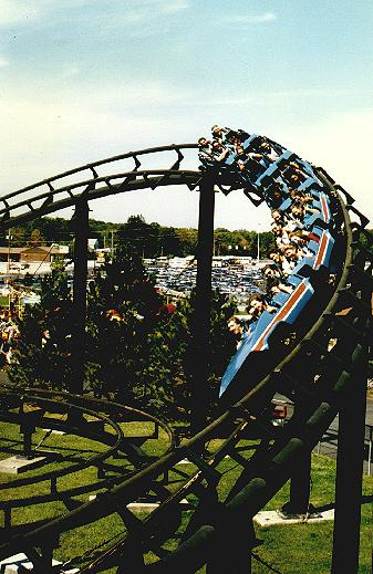 Corkscrew photo from Geauga Lake