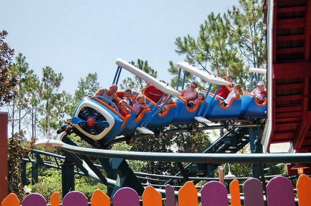 Barnstormer photo from Magic Kingdom