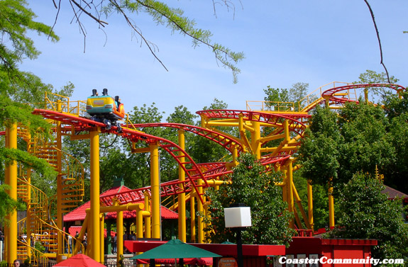 Spinning Dragons photo from Worlds of Fun