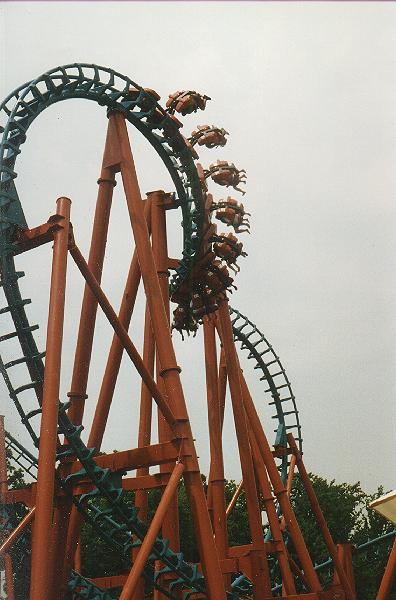 Mind Eraser photo from Six Flags America