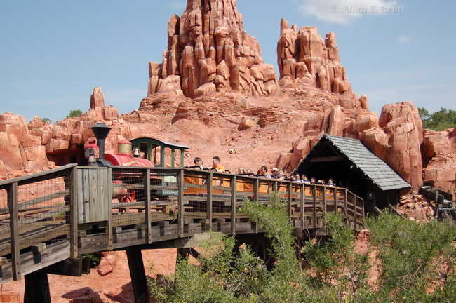 Big Thunder Mountain Railroad photo from Magic Kingdom