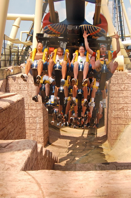 Montu photo from Busch Gardens Tampa