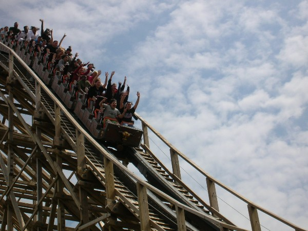 El Toro photo from Six Flags Great Adventure