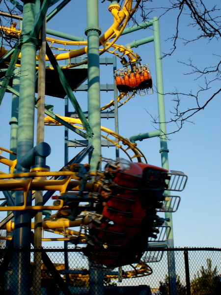 Tomb Raider: The Ride photo from Canada's Wonderland