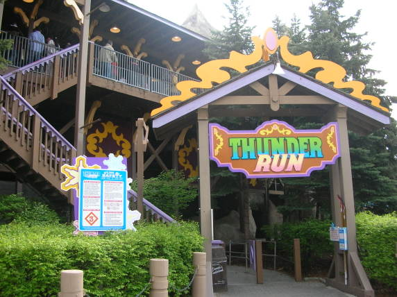Thunder Run photo from Canada's Wonderland