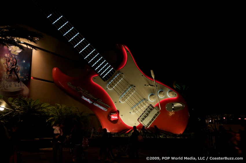 Rock-n-Roller Coaster photo from Disney's Hollywood Studios