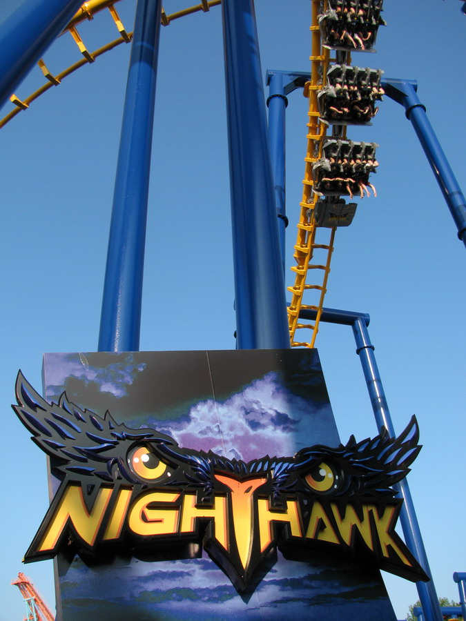 Nighthawk photo from Carowinds