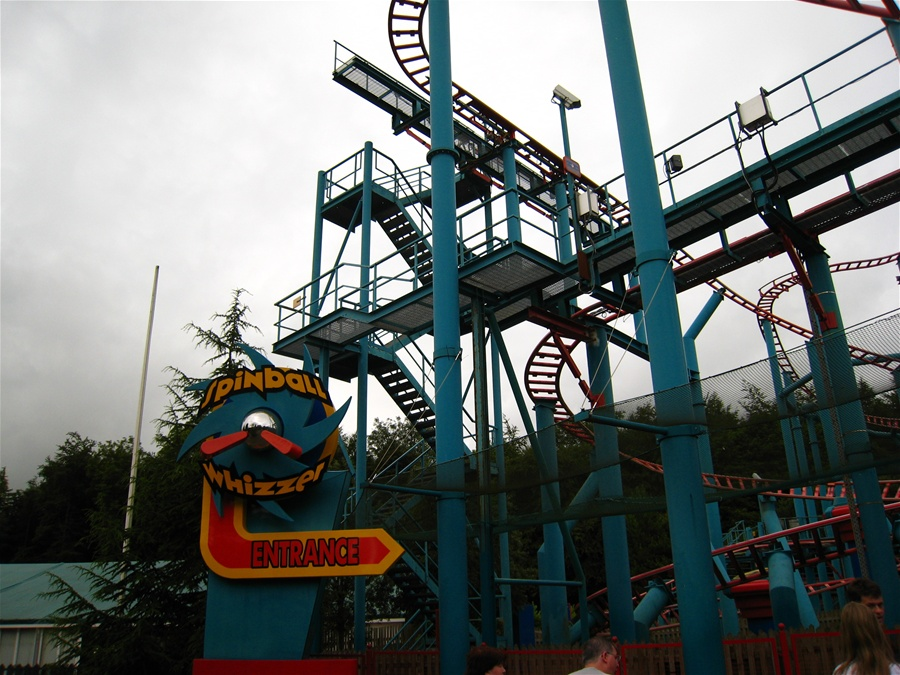 Spinball Whizzer photo from Alton Towers