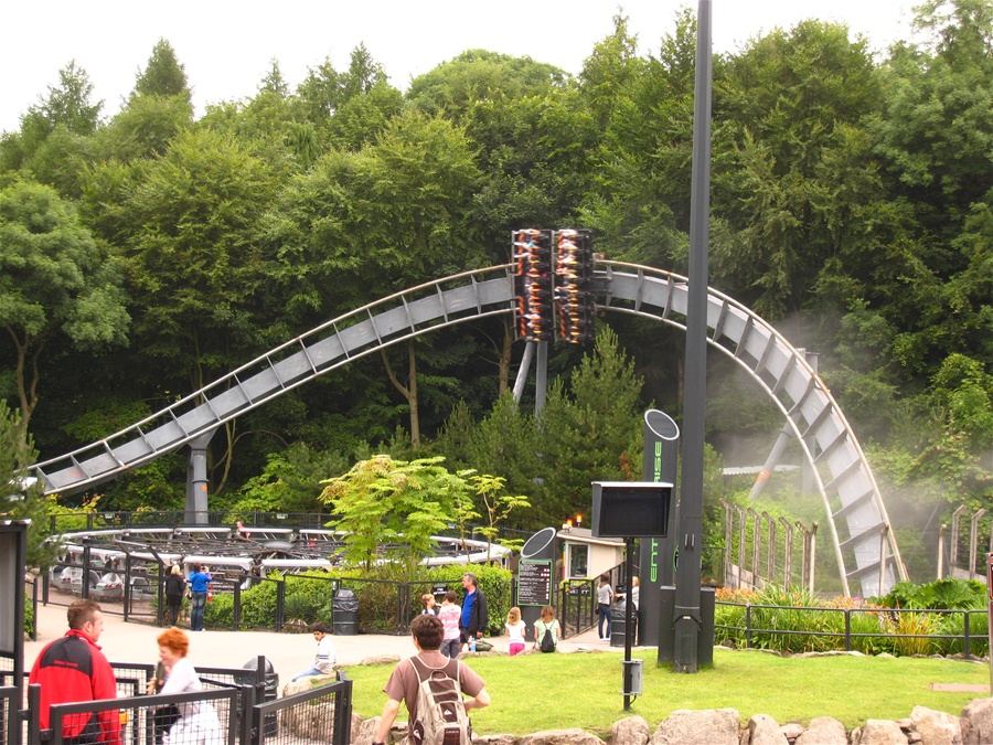 Oblivion photo from Alton Towers
