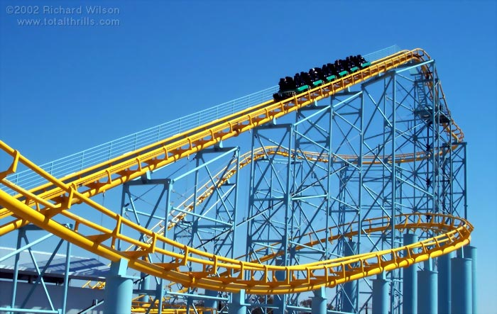 Cyclone photo from Dreamworld
