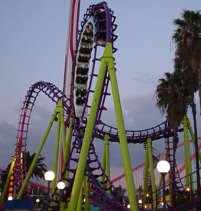 Boomerang photo from Knott's Berry Farm