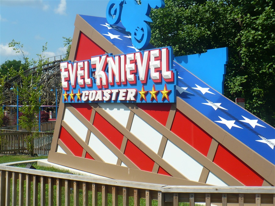 Evel Knievel photo from Six Flags St. Louis