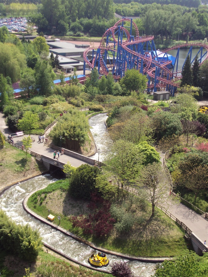 Superman: The Ride photo from Walibi World