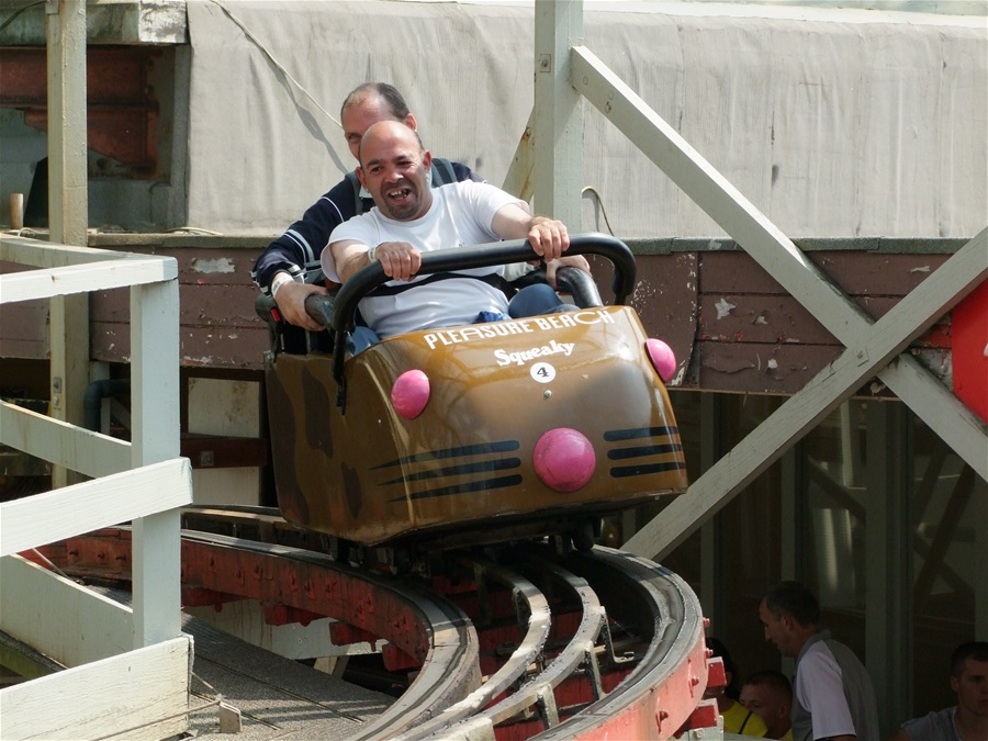 Wild Mouse photo from Pleasure Beach, Blackpool