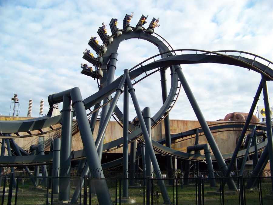 ride photo from six flags st louis photo 2 of 5 more batman the ride bdTWG4m1