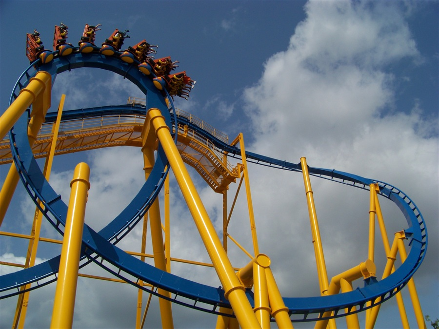 Goliath photo from Six Flags Fiesta Texas