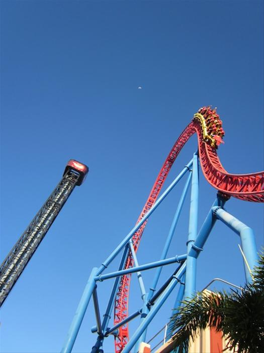 Superman Escape photo from Warner Bros. Movie World Australia