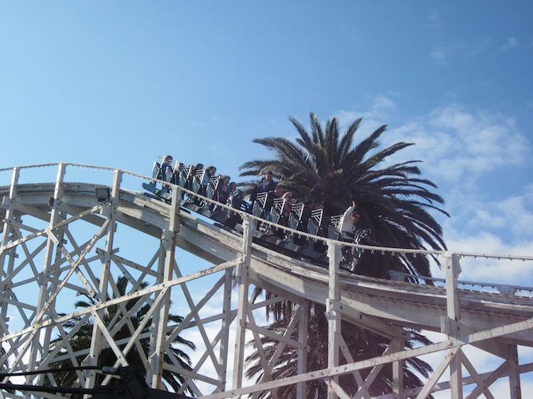 Scenic Railway photo from Luna Park