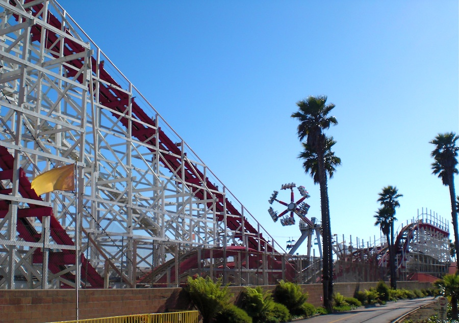 Giant Dipper photo from Santa Cruz Beach Boardwalk