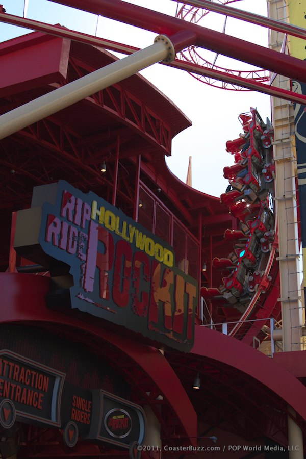 Hollywood Rip Ride Rockit photo from Universal Studios Florida