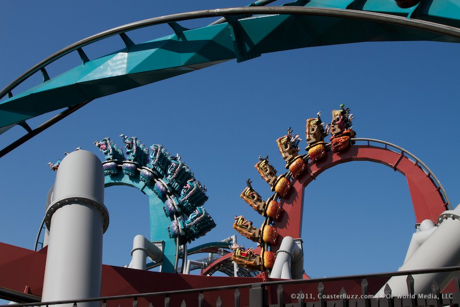 Dragon Challenge (Chinese Fireball) photo from Islands of Adventure