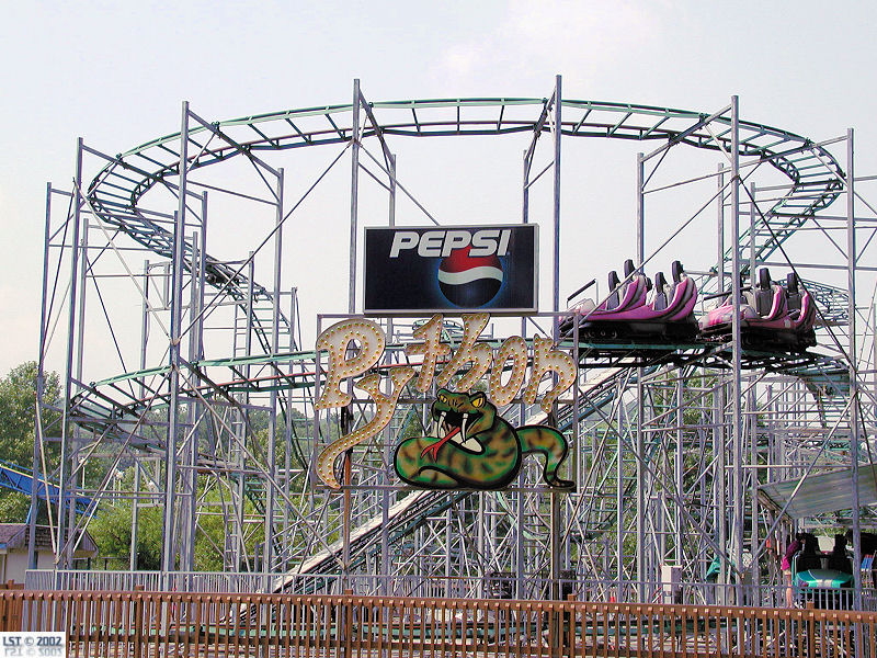 Python Roller Coaster Coney Island
