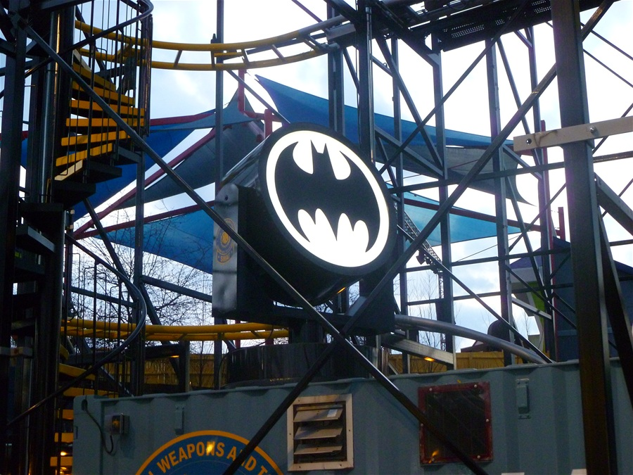 Gotham City Gauntlet Escape from Arkham Asylum photo from Six Flags New England