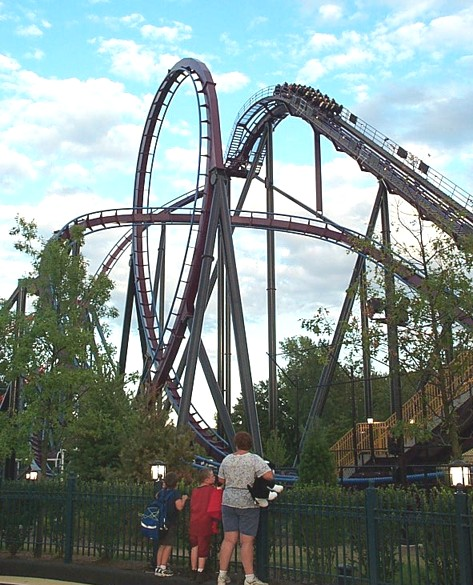 Batman: The Dark Knight photo from Six Flags New England