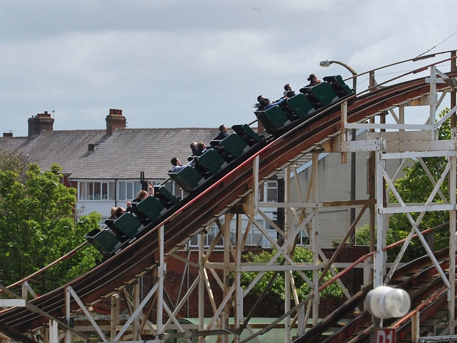 Grand National photo from Pleasure Beach, Blackpool