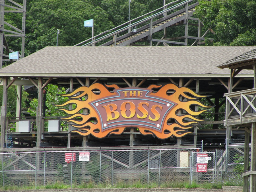 Boss, The photo from Six Flags St. Louis