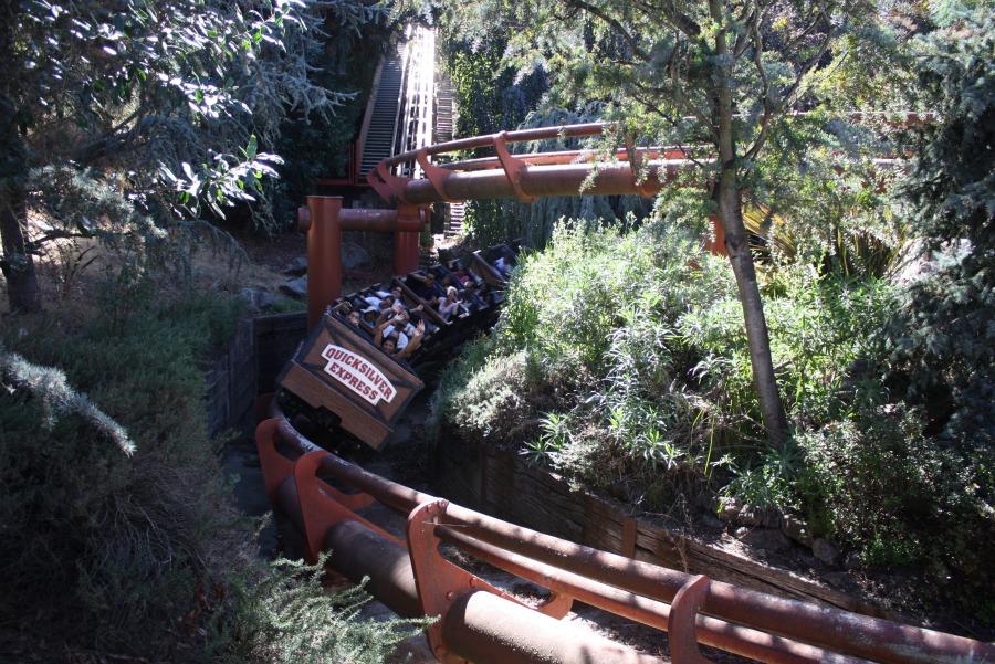 High Quality Quicksilver Express Photo From Gilroy Gardens Family Theme Park
