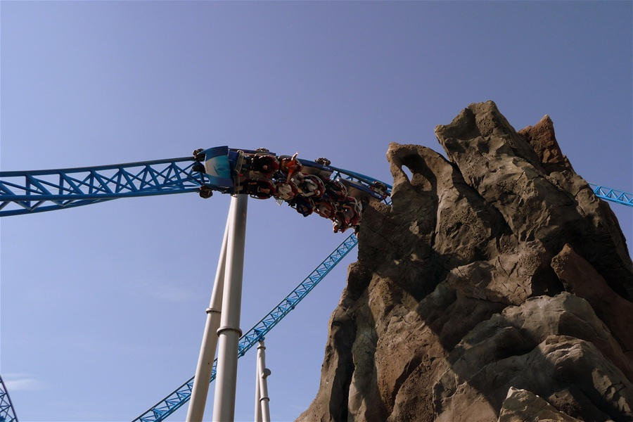 blue fire Megacoaster photo from Europa Park