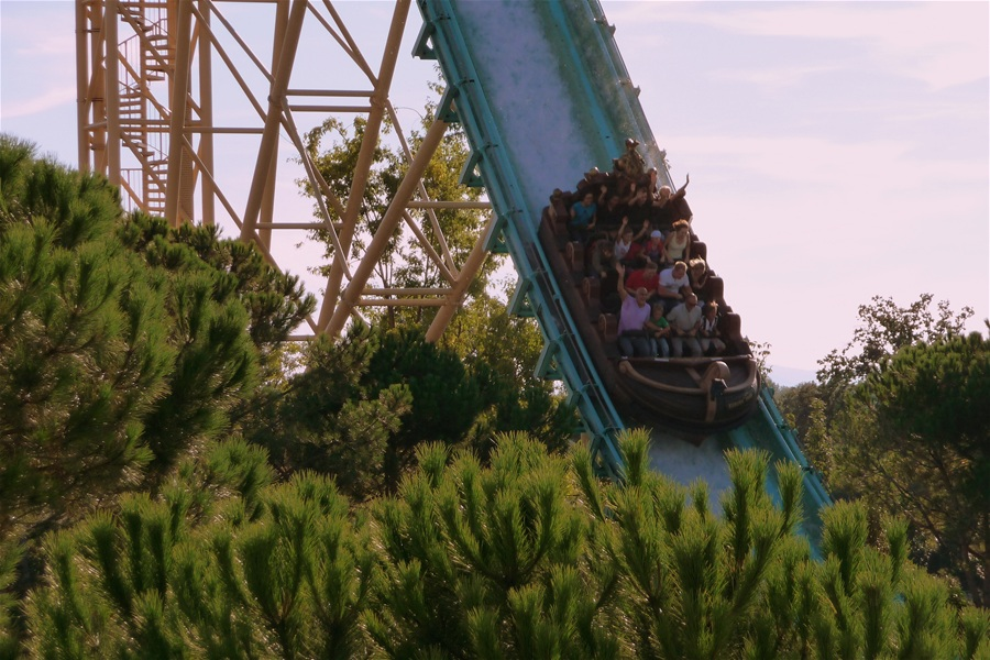 Atlantica SuperSplash photo from Europa Park