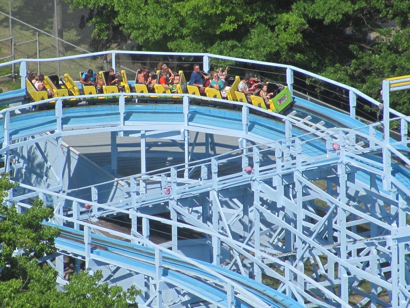 Woodstock Express photo from Kings Island