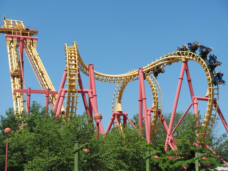 Invertigo photo from Kings Island
