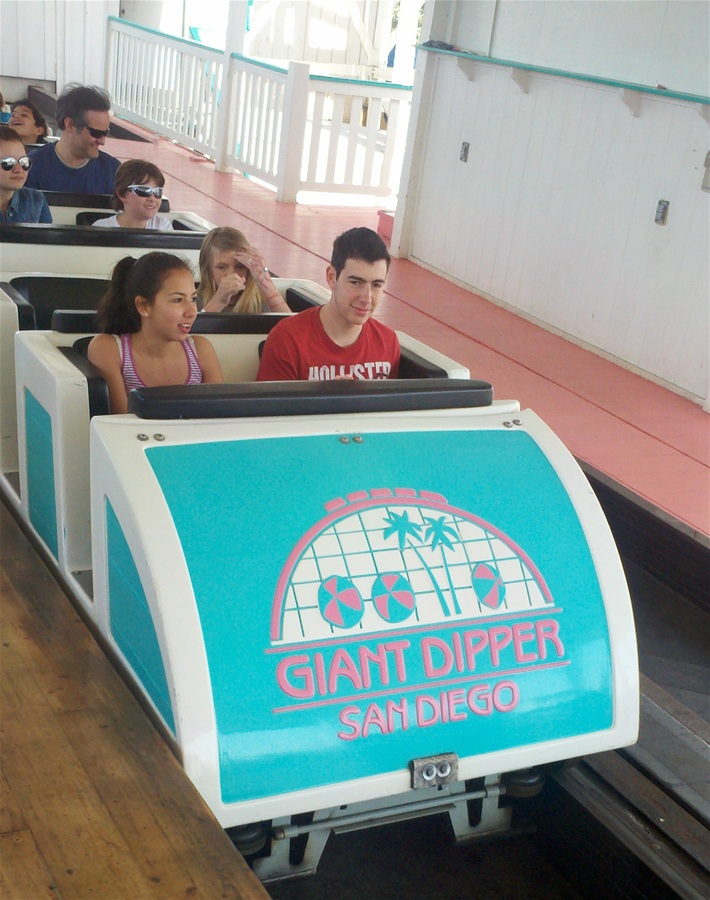 Giant Dipper photo from Belmont Park