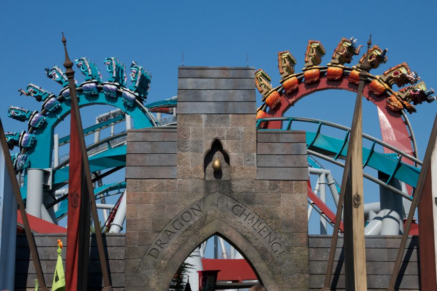 Dragon Challenge (Hungarian Horntail) photo from Islands of Adventure