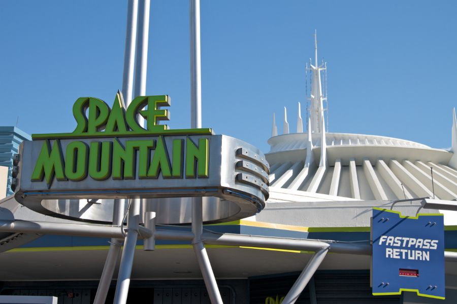 Space Mountain photo from Magic Kingdom