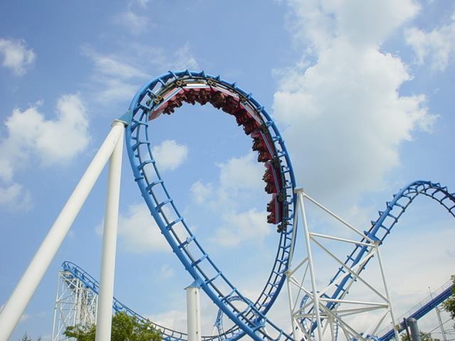 Shockwave photo from Six Flags Great America